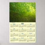 Bosque de bambú poster