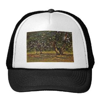 Bosque de Claude Monet Fontainebleau Gorro