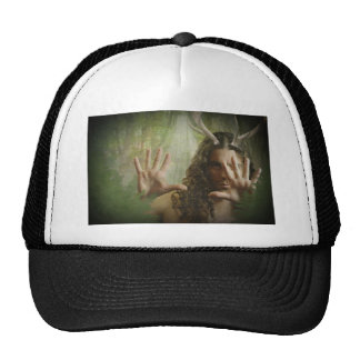Bosque de cuernos de dios gorras