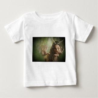 Bosque de cuernos de dios playera de bebé