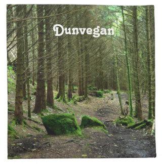 Bosque de Dunvegan Servilletas Imprimidas