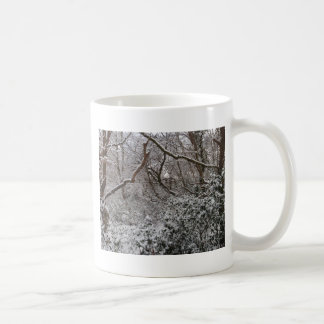 Bosque de Epping en invierno Taza Clásica