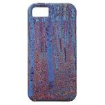 Bosque de la haya de Gustavo Klimt, arte Nouveau iPhone 5 Cobertura
