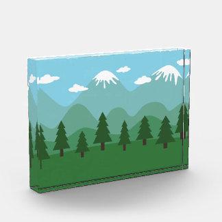 Bosque de la montaña