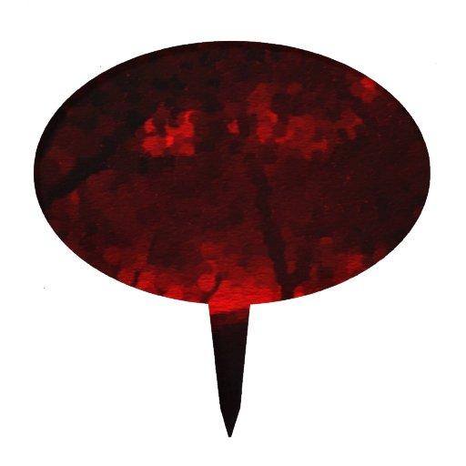 Bosque de la sangre del Faerie Figuras De Tarta