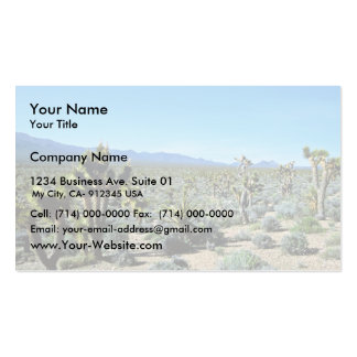 Bosque de la yuca tarjetas de visita