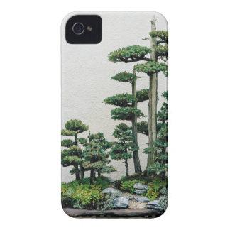 Bosque de los bonsais del enebro Case-Mate iPhone 4 funda