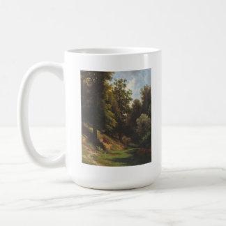 Bosque de Lvovich Kamenev del lev Taza Básica Blanca