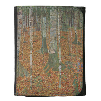 Bosque del abedul de Gustavo Klimt, arte Nouveau