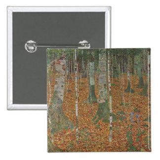 Bosque del abedul de Gustavo Klimt Pins