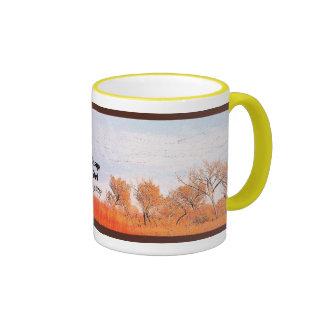 Bosque del Apache Mug Taza A Dos Colores