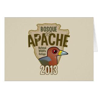 Bosque del Apache Tarjeta De Felicitación