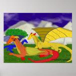 Bosque del dragón posters
