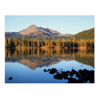Bosque del Estado de Deschutes, lago sparks Postal