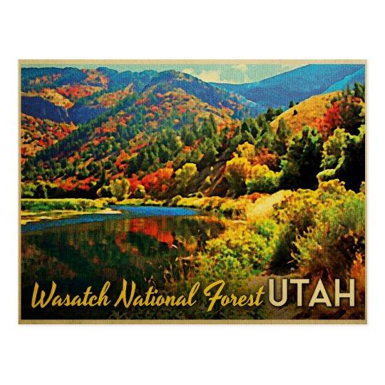 Bosque del Estado de Utah Wasatch Tarjetas Postales