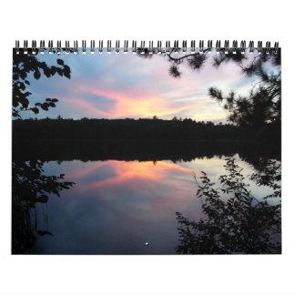 bosque del Estado del nicolet Calendario