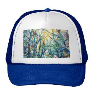 Bosque del gorra de la vida