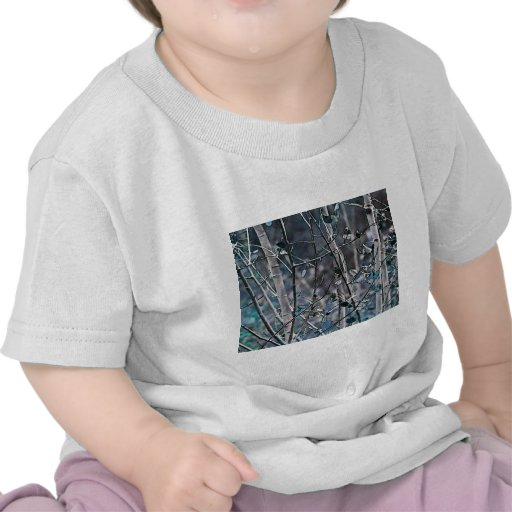 Bosque del invierno camisetas