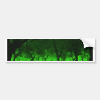 Bosque del irlandés vidente etiqueta de parachoque