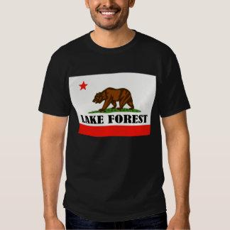 Bosque del lago, Ca -- Camiseta Remera