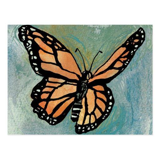 Bosque del monarca tarjetas postales