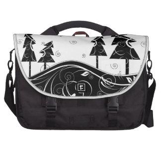 Bosque del navidad bolsa de ordenador