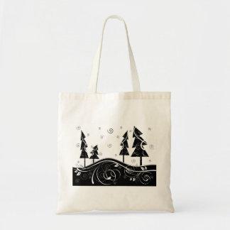Bosque del navidad bolsas