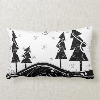 Bosque del navidad almohadas