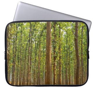 Bosque del shorea robusta funda portátil
