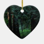 Bosque del terciopelo ornaments para arbol de navidad