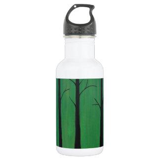 Bosque del verde esmeralda