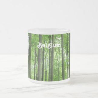 Bosque en Bélgica Taza De Café