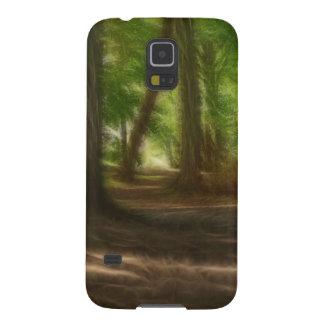 Bosque encantado carcasa para galaxy s5