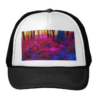 Bosque encantado gorras de camionero
