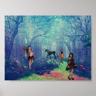 Bosque encantado posters
