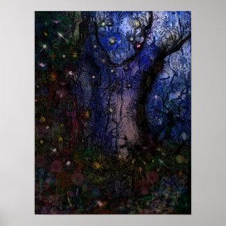 Bosque encantado poster