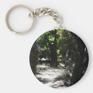 Bosque espeluznante llavero