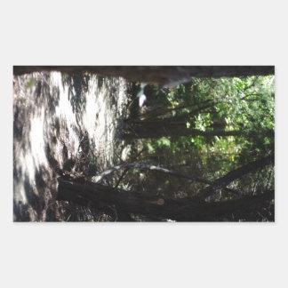 Bosque espeluznante rectangular altavoz