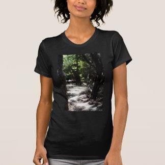 Bosque espeluznante camisetas