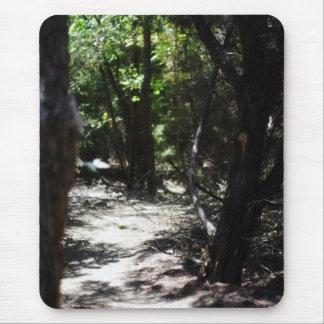 Bosque espeluznante alfombrillas de ratón