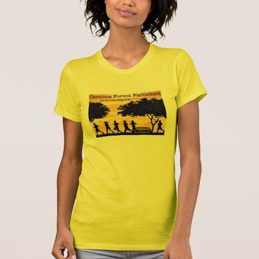 Bosque Fartlekers de Carolina T Shirts