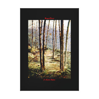Bosque/Forest Impresiones En Lona Estiradas