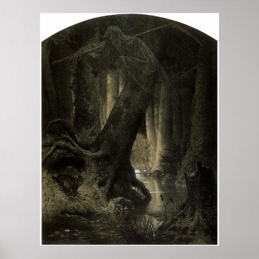 Bosque grande posters