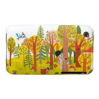Bosque lindo Case-Mate iPhone 3 cárcasas