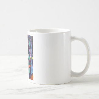 Bosque mágico 21 taza básica blanca