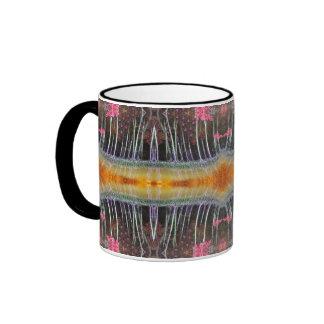 Bosque mágico del mangle taza a dos colores