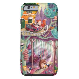 Bosque mágico funda de iPhone 6 tough