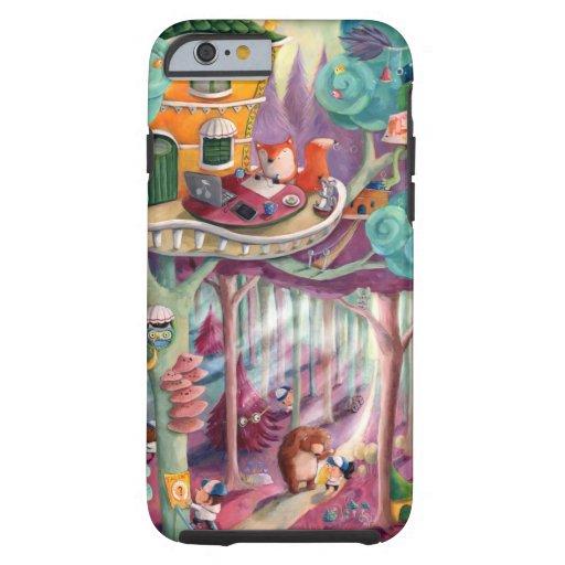 Bosque mágico funda para iPhone 6 tough