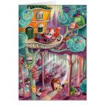 Bosque mágico tarjeta de felicitación