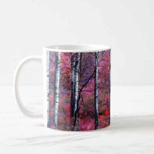 Bosque mágico taza clásica